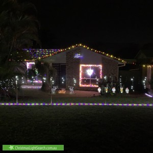Christmas Light display at 14 Lutton Court, Boronia Heights