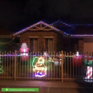 Christmas Light display at 22 Essex Street, Mansfield Park