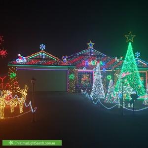 Christmas Light display at 15 Blaxland Place, Narangba