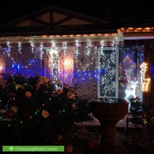 Christmas Light display at 247 Corfield Street, Gosnells