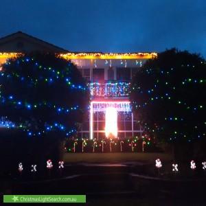 Christmas Light display at 80 Glendale Avenue, Flagstaff Hill