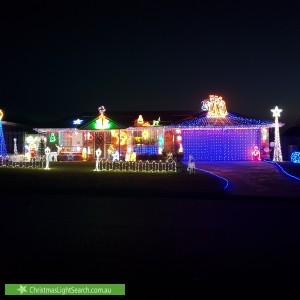 Christmas Light display at 20 Volstead Road, Heritage Park