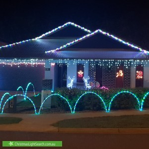 Christmas Light display at  Follington Street, Zuccoli