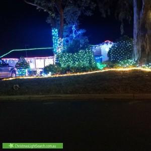 Christmas Light display at 26 Casuarina Avenue, Surrey Downs