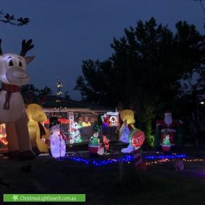 Christmas Light display at 12 Watton Road, Carlingford