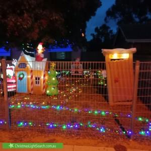 Christmas Light display at 158 Peachey Road, Davoren Park