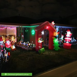 Christmas Light display at 15 Dale Avenue, Pascoe Vale