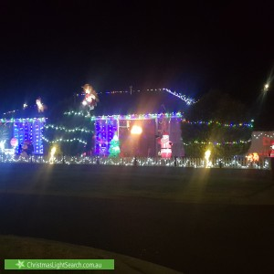Christmas Light display at 3 Geraldine Drive, Hampton Park