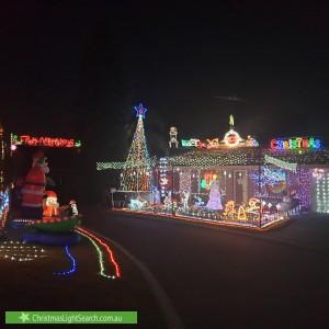 Christmas Light display at 2 Oldenburg Pass, Stratton