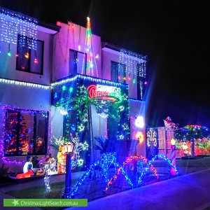 Christmas Light display at 11 Chiswick Court, Templestowe