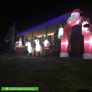 Christmas Light display at 3 Vera Street, Werribee