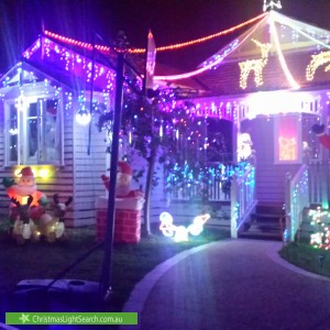 Christmas Light display at 34 McCulloch Street, Nunawading