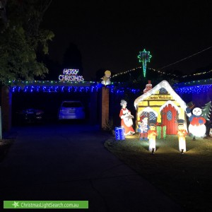 Christmas Light display at 99 Harley Street North, Knoxfield