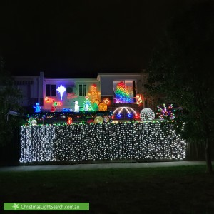 Christmas Light display at 5 Hosken Street, Altona Meadows