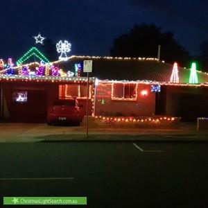 Christmas Light display at 35 High Street, Rangeville