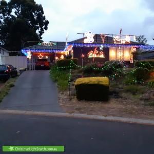 Christmas Light display at 7 Tandy Street, Aberfoyle Park
