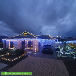 Christmas Light display at 4 Leech Street, Seaford Meadows
