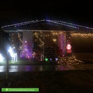 Christmas Light display at  Chianina Lane, Clyde North