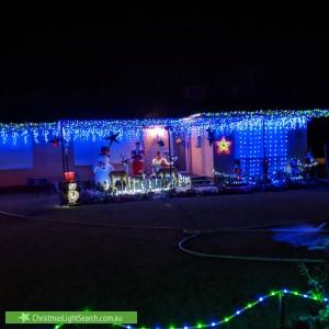 Christmas Light display at 160 Victoria Road, Dayton