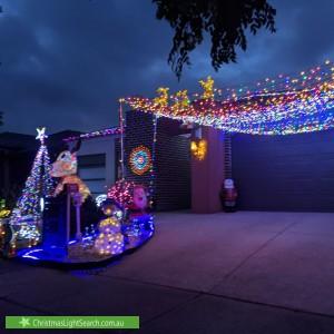 Christmas Light display at 10 Tiarella Street, Point Cook