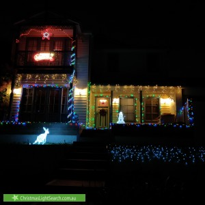 Christmas Light display at 11 Eastern Park Square, Narre Warren South