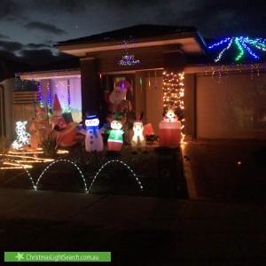 Christmas Light display at  Glenferrie Avenue, Mickleham