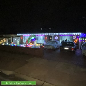 Christmas Light display at 38 Poplar Road, Paralowie