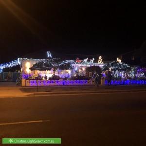 Christmas Light display at  Donald Road, Queanbeyan