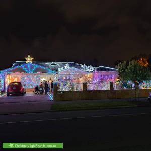 Christmas Light display at 40 Poplar Road, Paralowie