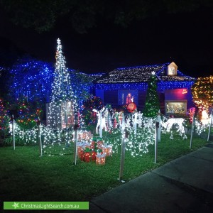 Christmas Light display at 17 Edmonds Street, Narre Warren