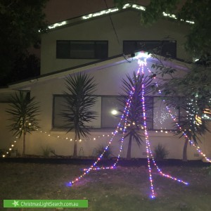 Christmas Light display at 9 Nicholas Grove, Heatherton