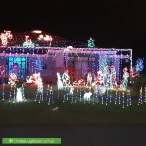 Christmas Light display at 31 Lindsay Drive, Noranda