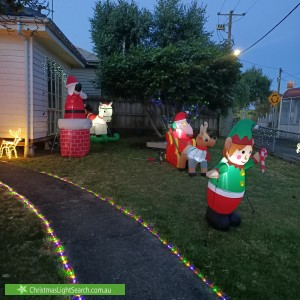 Christmas Light display at  Normanby Street, Warragul