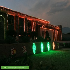 Christmas Light display at Beatty Street, Wilton