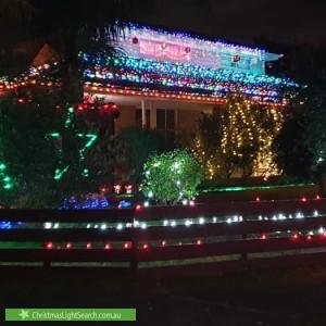 Christmas Light display at 29 Milford Crescent, Frankston