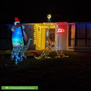 Christmas Light display at 5 Ashridge Court, Aberfoyle Park