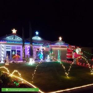 Christmas Light display at 32 Minchin Turn, Baldivis