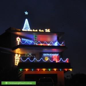 Christmas Light display at 564 Nepean Highway, Frankston