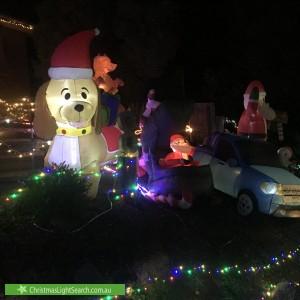 Christmas Light display at  Nevern Court, Diamond Creek