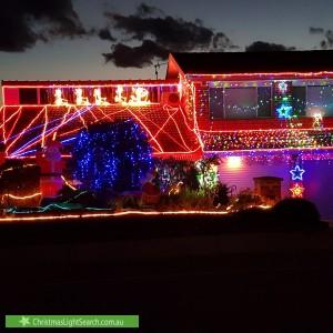 Christmas Light display at 77 O'Connor Circuit, Calwell