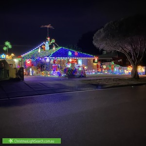 Christmas Light display at 29 Peebles Street, Endeavour Hills