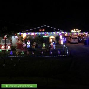 Christmas Light display at 2 Pratt Court, Melton