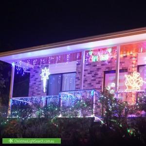 Christmas Light display at 18 Mina Wylie Crescent, Gordon
