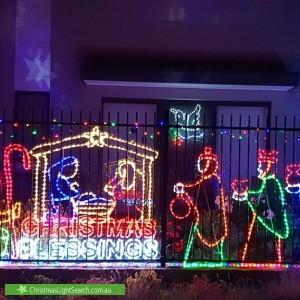 Christmas Light display at 5 Bill Leng Street, Coombs