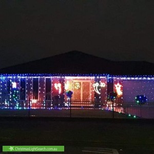 Christmas Light display at 10 Lincoln Drive, Derrimut