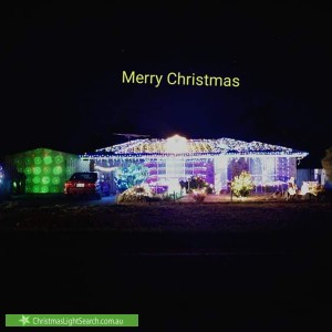 Christmas Light display at 17 Heathersay Avenue, Aldinga Beach