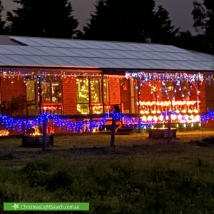 Christmas Light display at 220 Victoria Road, Pearcedale