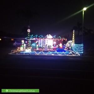 Christmas Light display at 40 Benbullen Boulevard, Kingsley