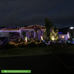 Christmas Light display at 37 Fieldstone Boulevard, Beaconsfield