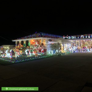 Christmas Light display at Chesney Road, Melton